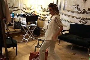 ВИДЕО: Ксения Бородина спародировала Валерия Леонтьева