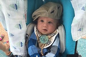 Валентин Юдашкин с младенчества учит внука одеваться стильно