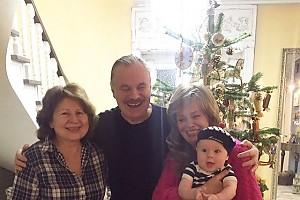 Владимир Пресняков отмечает 71-летие с семьей