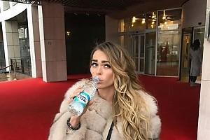Анна Хилькевич узнала сколько ей надо пить воды