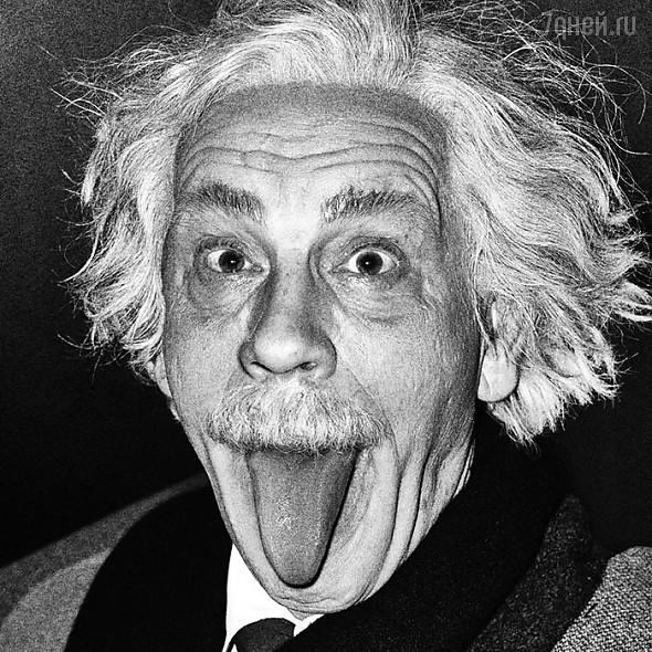 Джон Малкович в образе Альберта Эйнштейна