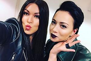 Губки бантиком: Ирина Дубцова и Настасья Самбурская