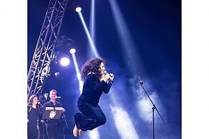 Лолита на своем сольном концерте