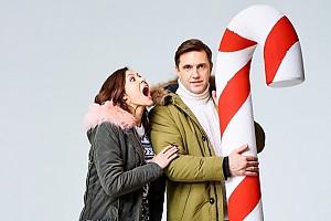 Новогодние Владимир Вдовиченков и Елена Лядова