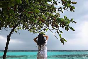 Ирина Дубцова гуляет по раю